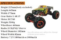 ROCKEXTREME Climber 18 Off-Road электрокраулер. Фото 3