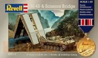 Revell  Танк M-48 & Scissors Bridge  1:40
