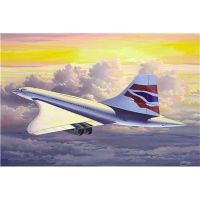 Сборка Самолет Concorde British Airways Revell