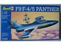 Военный самолет F9F-5 Panther Blue Angels; 1:72 Revell