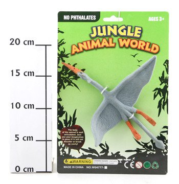 Игр. пласт. CRD 20*22*1 см Jungle Animal World Птица арт. W04777-15