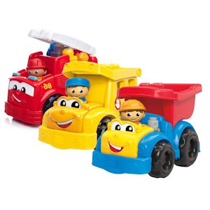 ������. MEGA BLOKS FIRST BUILDERS ��������� ������������ �������� (������� �����������)