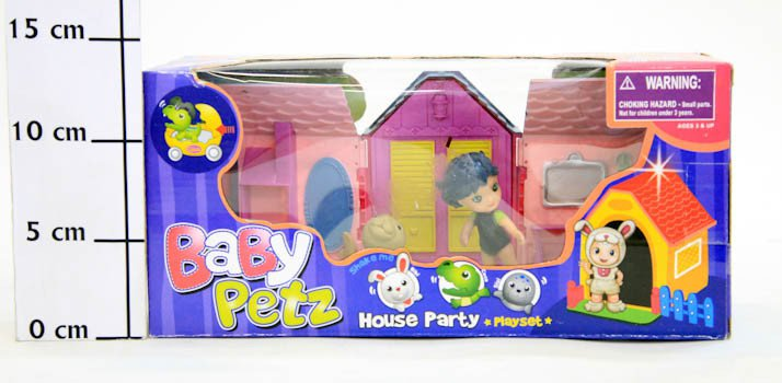 ����� ������� ������. � ������  House Party, BOX 29x13x10 ��, 3 ����, ���.093001ABC.-1