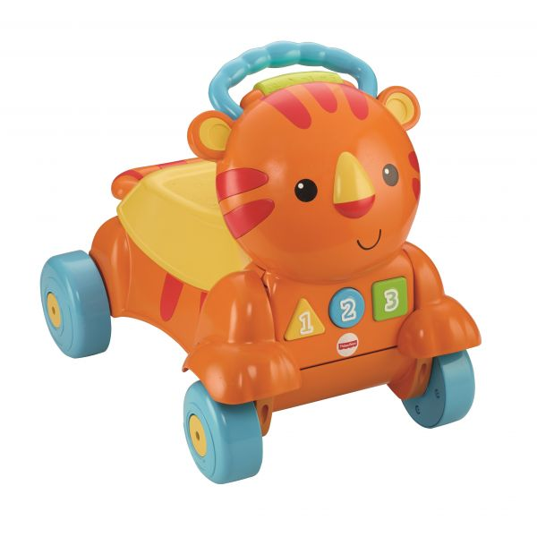 МАТТЕЛ. FISHER-PRICE®  КАТАЛКА ТИГРЕНОК. Фото 2