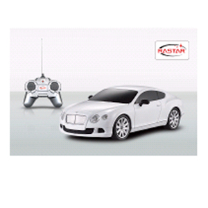 МАШИНА РУ RASTAR BENTLEY CONFINENTAL GT 1:24, ЦВЕТ В АССОРТ. В КОР.. Фото 2
