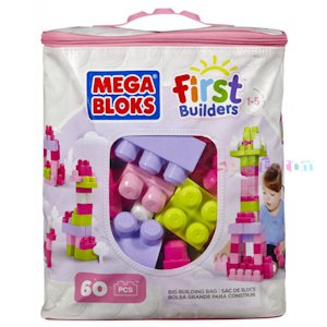 ������. MEGA BLOKS FIRST BUILDERS  ������� ����������� �� 60 ������� (�������)