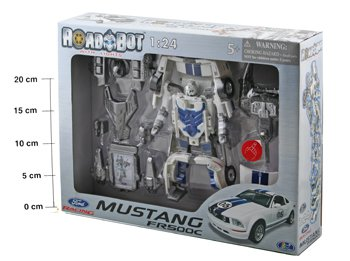 ����� - ����������� Happy Well BOX 37,5*8,5*28 ��. ���� Mustang ���. 53070-1