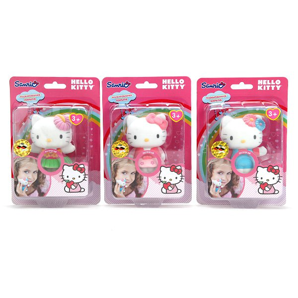 ФИГУРКА ИГРАЕМ ВМЕСТЕ HELLO KITTY, ПВХ С ПОКРЫТИЕМ, В АССОРТ. НА БЛИСТЕРЕ