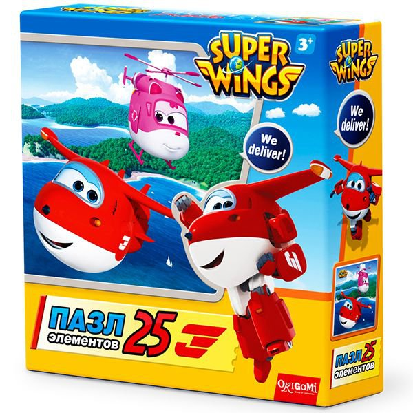 SuperWings.Пазл 25А На островах.02809
