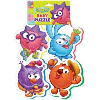 Пазлы мягкие Baby puzzle Смешарики-1