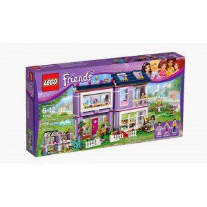 Конструктор lego friends дом эммы в кор.