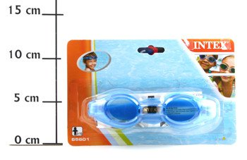 Очки для плавания Junior Goggles, 3цвета 3-8 лет-1