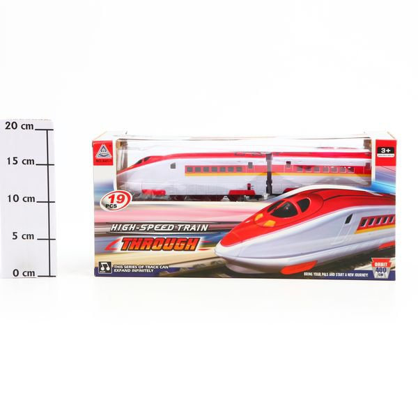 Игр.поезд High-Speed Train, 39*18*12см, Box, арт.A41-1