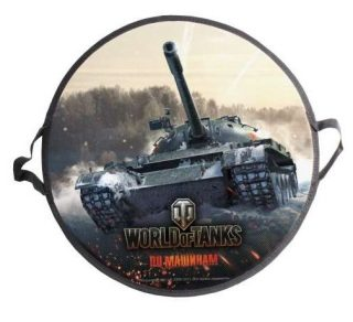 Ледянка World of Tanks 52 см круглая-1