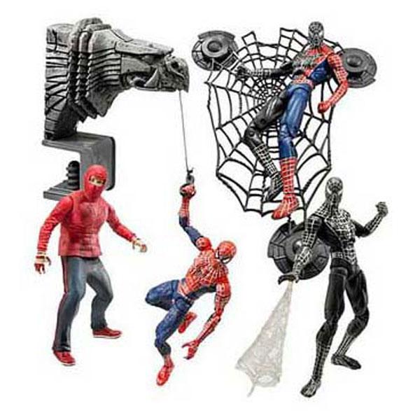 Человек паук 3 игрушки