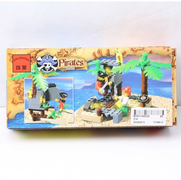 Констр. ENLIGHTEN пласт. Pirates Series, BOX 19*9*5 см., арт. 314
