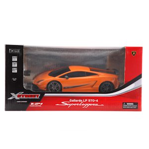 МАШИНА РУ LAMBORGHINI SUPERLEGGERA 1:24 В КОР.. Фото 2