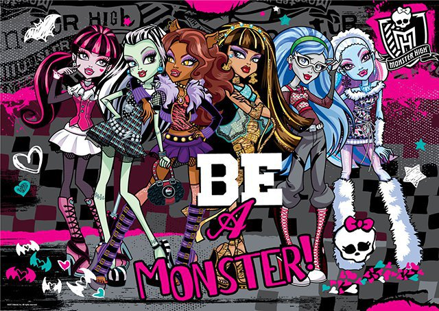 Пазл 260A. 05355 Monster High чемодан OR