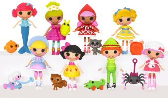 ����� Mini Lalaloopsy ��������� �������, � ���