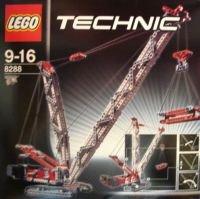 8288 конструктор лего техник гусеничный