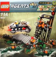 8632 Конструктор Лего Агенты Миссия 2 Охота на болоте (Lego Agents Mission 2 )