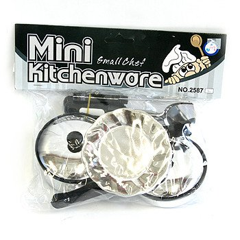Набор посуды PVC 22 см. Mini Kitchenware арт. 25872