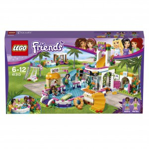 Lego friends летний бассейн