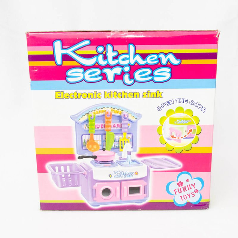 Набор Кухни  Kitchen Series - Плита, посуда BOX 24x20x20см арт. 686C. Фото 2