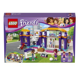 Lego friends спортивный центр