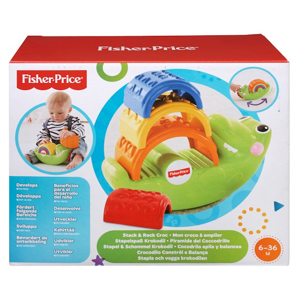 МАТТЕЛ. FISHER PRICE ПИРАМИДКА КРОКОДИЛЬЧИК