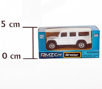 Метал. модель М1:64  RMZ CITY Land Rover Defender , арт.344010.. Фото 1