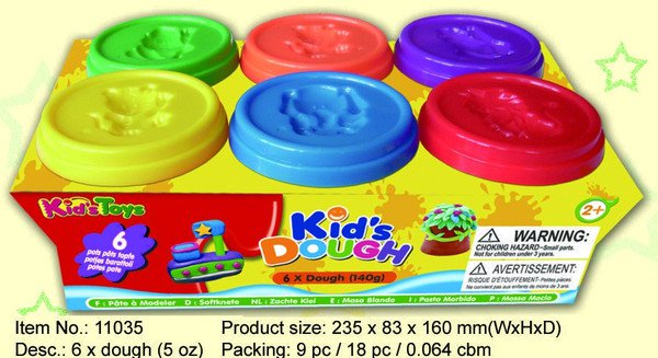 ����� ���������� Kids Dough, 140 ��., 6 ��., 23,5�8,3�16 ��., ���. 11035