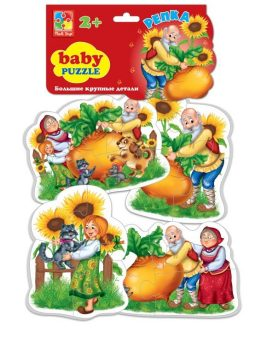 Пазлы мягкие Baby puzzle Сказки Репка