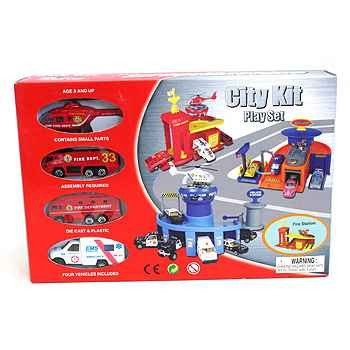 Набор Pioneer Toys  BOX City Kit 3 видаPT2066. Фото 1
