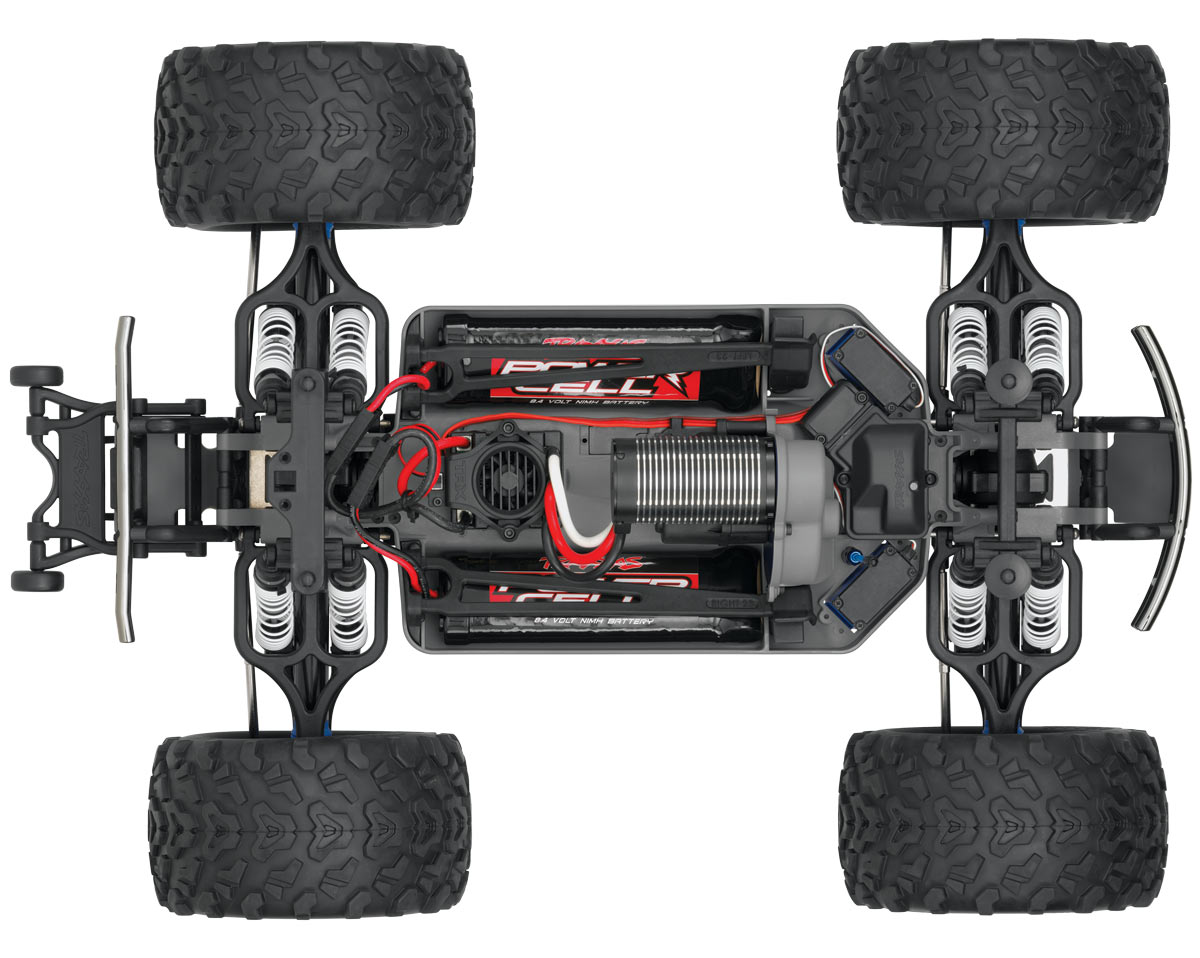 Монстр 110 Traxxas E-Maxx 2.4GHz RTR w2 7-Cell Batteries. Фото 4