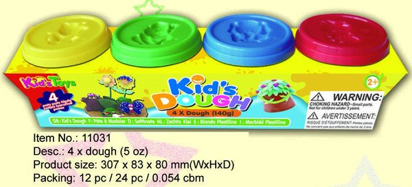 ����� ���������� Kids Dough, 140 ��., 4 ��., 30,8�8,3�8 ��., ���. 11031