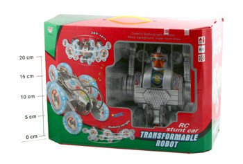 Упр.радио Робот-трансформер ВОХ FullFunk Transformable robot (муз.,свет) 23*23*15см , арт. SY3803-22