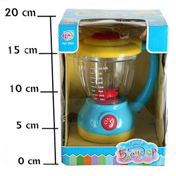 Игр.ласт.Блендер Joy Toy BOX 19x13x14 см, арт.0922.. Фото 1
