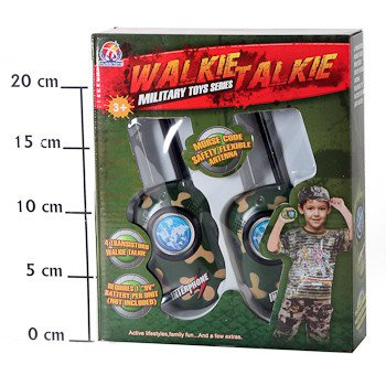 Игруш.рация 2шт Walkie Talkie Military, 24*20*5,5см, BOX, арт.008A. Фото 2