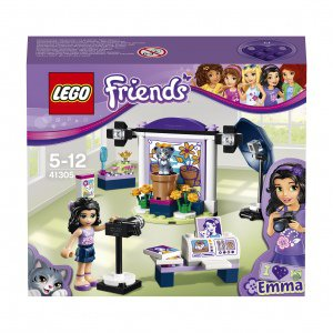 Lego friends фотостудия эммы