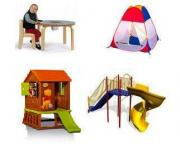 Детская мебель: домики, горки, столы