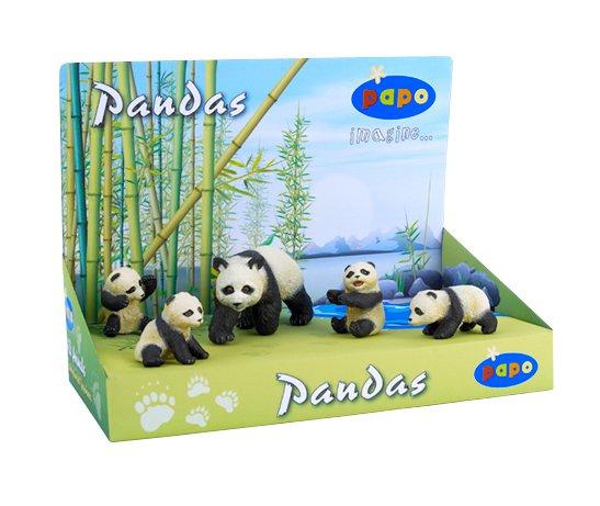 Дисплей семейство панды